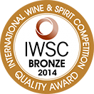 International Wine & Spirit Competition: Bronze medal