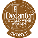 Decanter World Wine Awards: Bronze medal