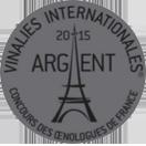 Les Vinalies de Paris: Silver medal